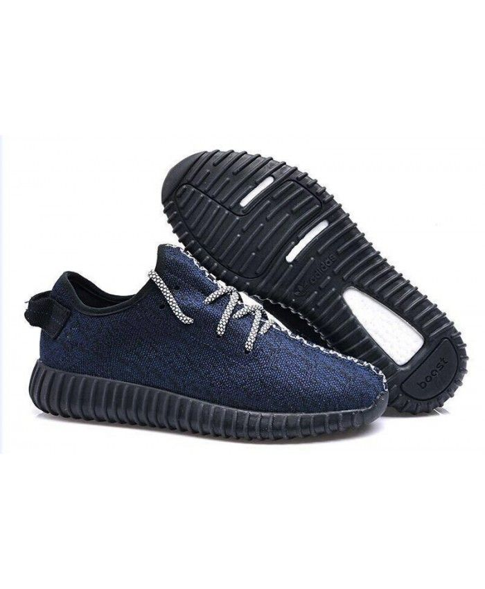 0021b92e70f9b2 Adidas Yeezy 350 Boost Low Navy Blue Trainers Sale UK