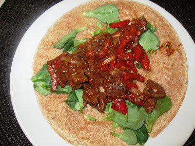 En verden af smag!: Tortilla med Oksekød