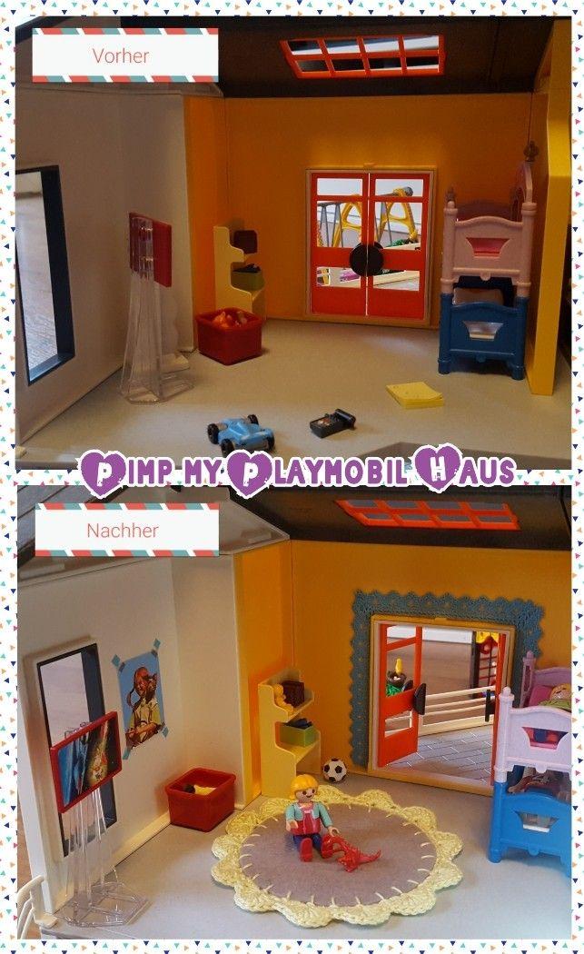 Schnelles DIY für das Playmobil Kinderzimmer Amalou.Designs
