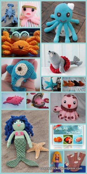 15 Free Under The Sea Crochet Patterns