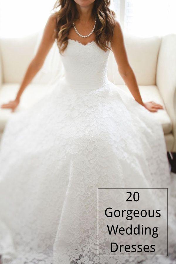 vintage strapless a line long lace wedding dresses