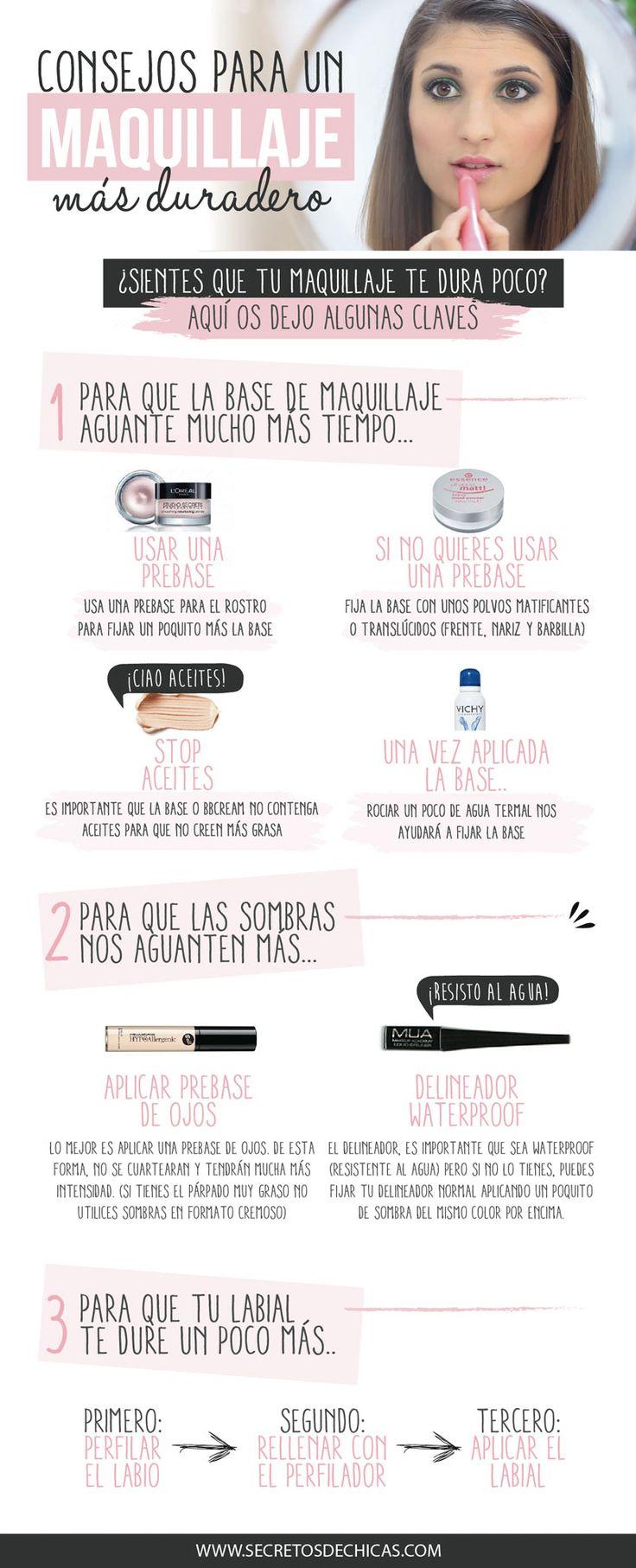 Maquillaje Más Duradero _ Por Secretos De Chicas