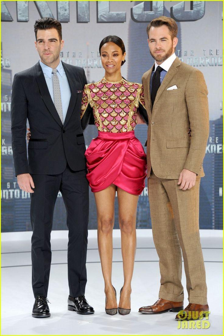 Chris Pine Wife | Chris Pine & Zoe Saldana: 'Star Trek Into Darkness' in Berlin!