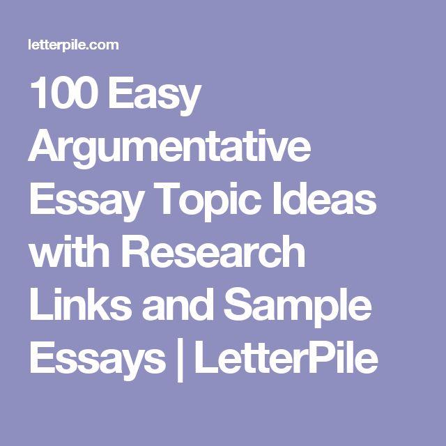 The 25+ best Sample essay ideas on Pinterest Examples of college - sample argumentative essay