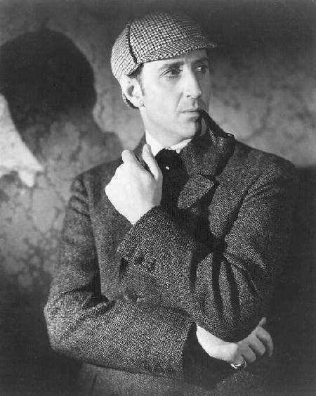 The Basil Rathbone Gallery: Sherlock Holmes Portraits