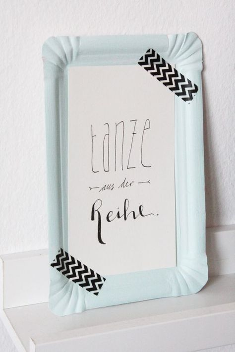 DIY Wanddeko & Lettering Printable zum Download