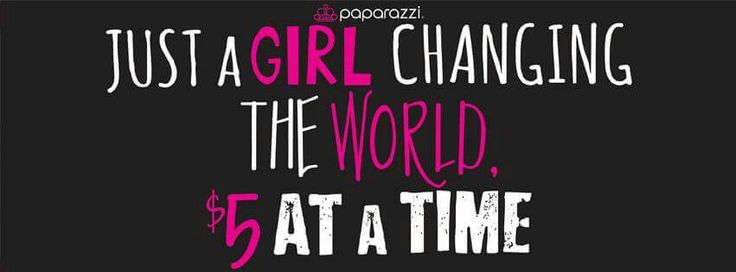 Just A Girl Changing The World 5 At A Time Won T You