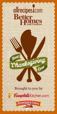 This will be the Best Thanksgiving Ever! Pin to Win $5,000 and start making delicious memories with @BHG and @AllRecipes.