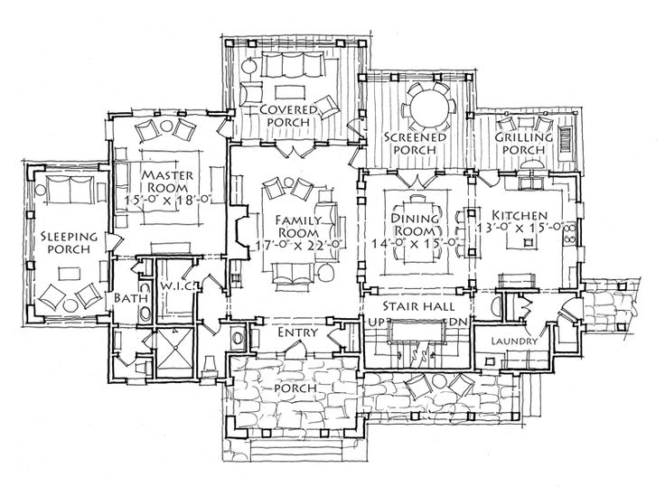 65 best FLOOR PLANS images on Pinterest | Square feet, Craftsman ...