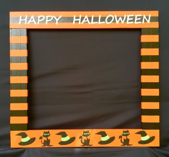 Photo Booth Frame/Photo Booth/Halloween Picture by PalletCreatives