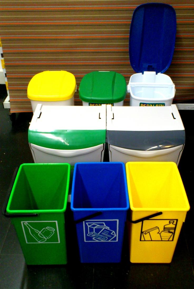 Cubos reciclaje
