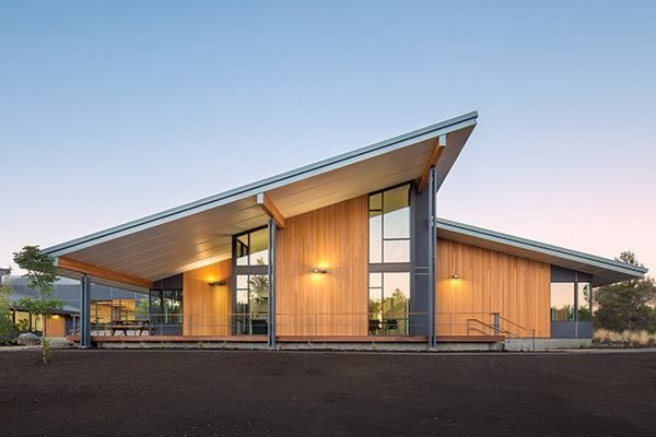 Through creative detailing and design, Hennebery Eddy Architects crafted a facility for the Cascades Academy that complements its forested site.
