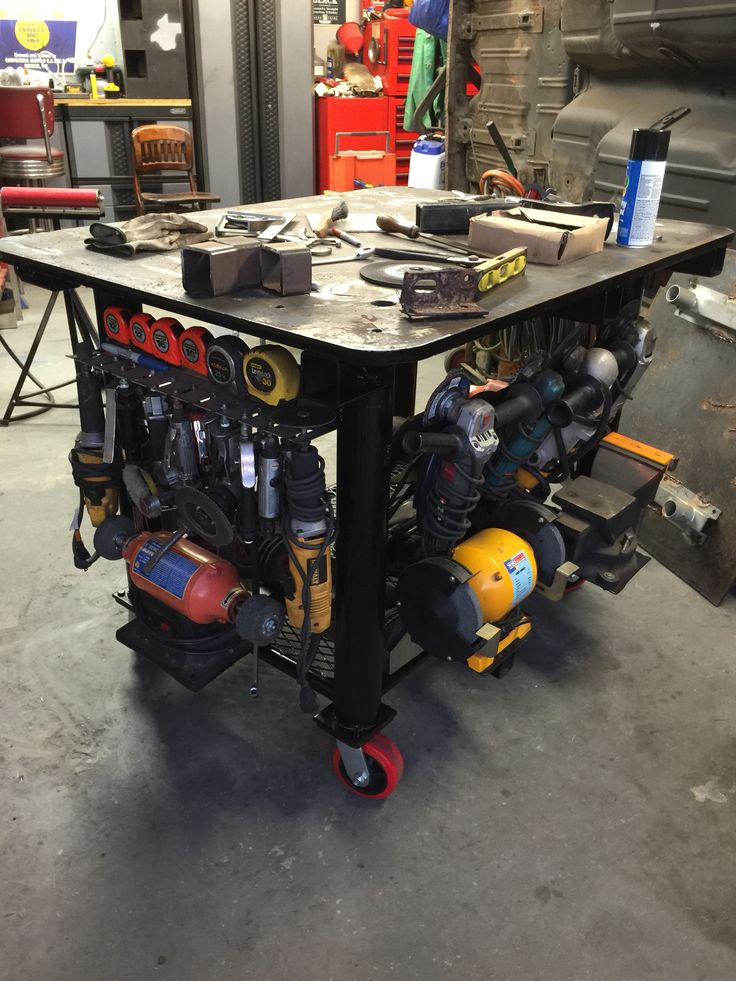 My Welding Table My Homemade Stuff Stolar Verkstad
