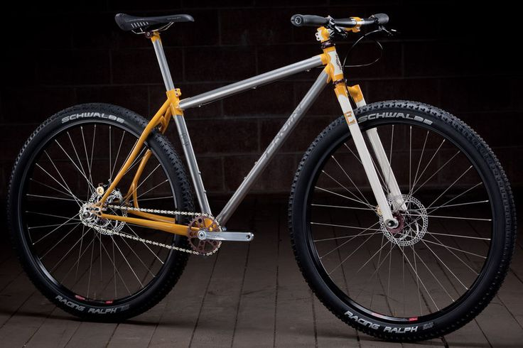 My SS MTB Dream...Engin Cycles lugged Stainless Steel Beauty...sheesh