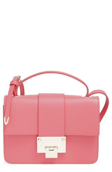 Jimmy Choo 'Rebel' Calfskin Leather Crossbody Bag available at #Nordstrom