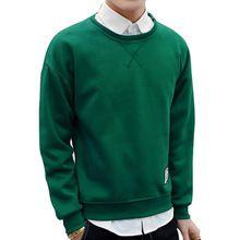 2017 Otoño Invierno Moda solid casual Masculina Streetwear de manga larga Fleece Sudaderas Con Capucha de Los Hombres sudaderas más el tamaño 3XL 4XL(China (Mainland))
