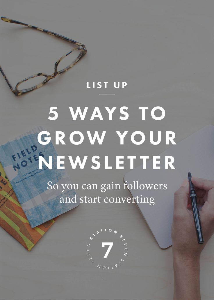 5 Ways to Grow Your Newsletter. Optimize your email sign-up and subscribers to start buying. Click through to learn tips on email marketing.