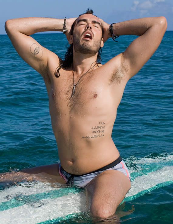 Russell Brand as Aldous Snow in Forgetting Sarah Marshall