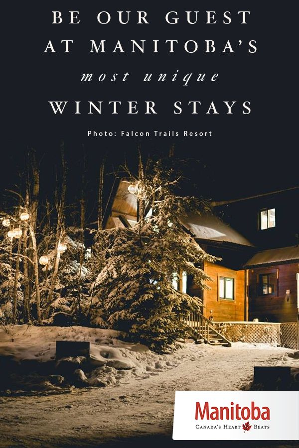 With winter well underway, you are likely starting to crave some time away from home to decompress and enjoy all the season has to offer. Here are 7 unique stays to add to your bucket list… www.manitobahot.com #exploremb