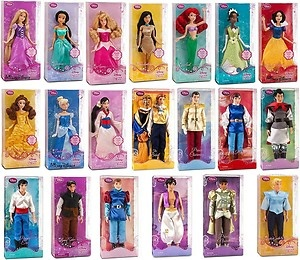 barbies - Disney princess collection