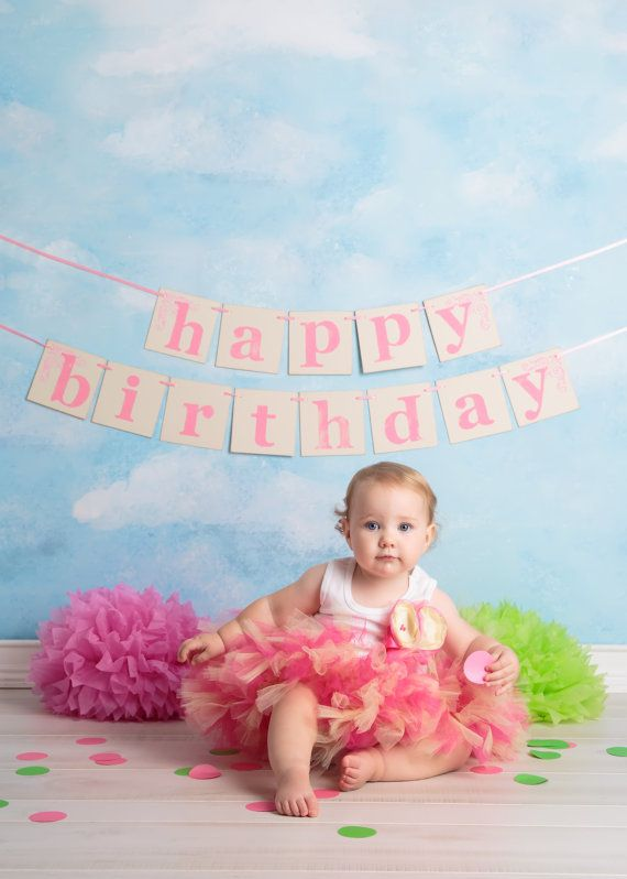 Sweet 1st Birthday Baby Tutu Dress
