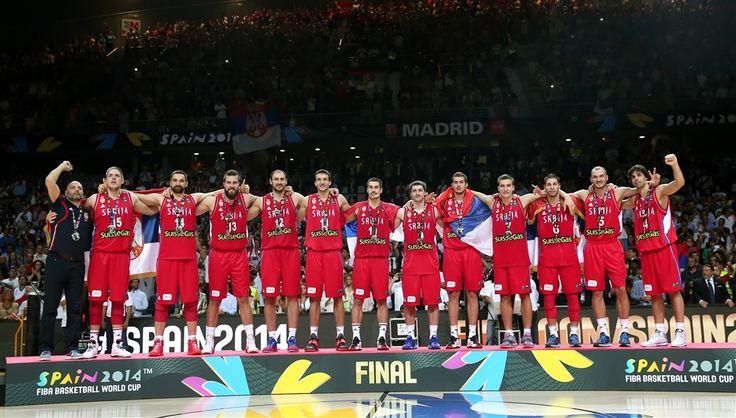 #SERBIA - SILVER medal at the 2014 FIBA World Cup, #Spain | #СРБИЈА - СРЕБРНА…