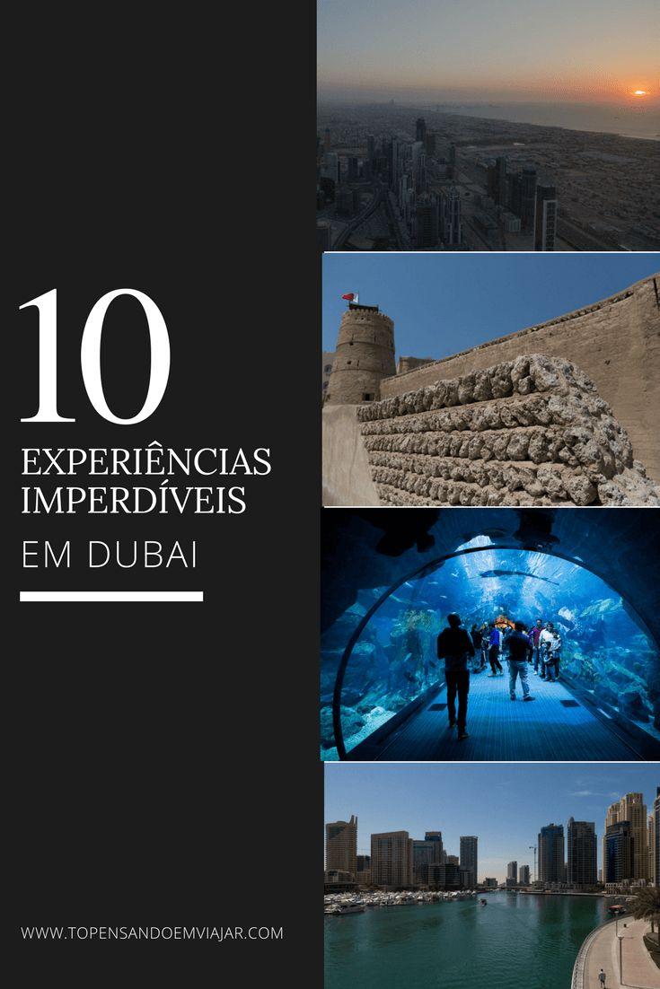 Conheça as 10 experiências imperdíveis em Dubai, testadas e aprovadas pelo blog Tô Pensando em Viajar. Aproveite sua viagem!