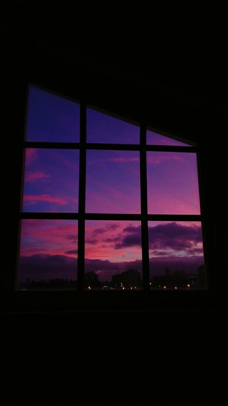 Sunset Window iPhone Wallpaper::…Click here to download