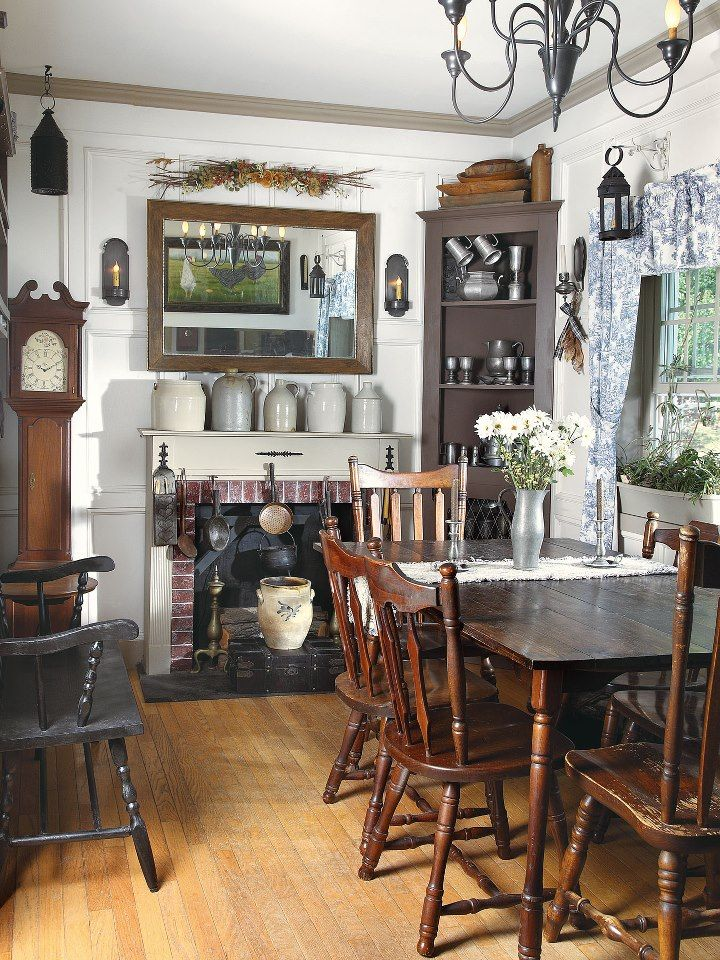 find this pin and more on prim colonial kitchens and diningrooms - Colonial Kitchen Ideas