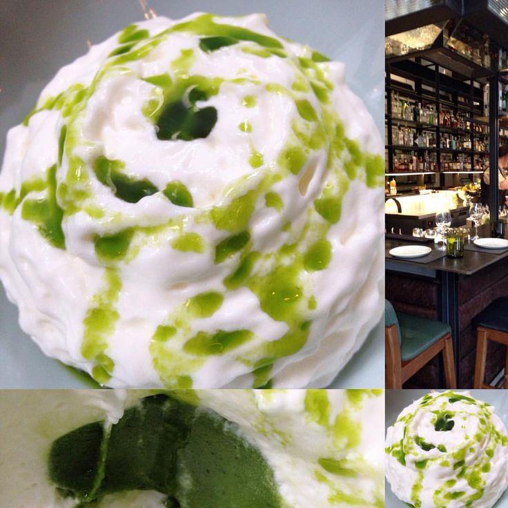 Joy House Productions — Meringue with lime #sorbet inside - #creative...