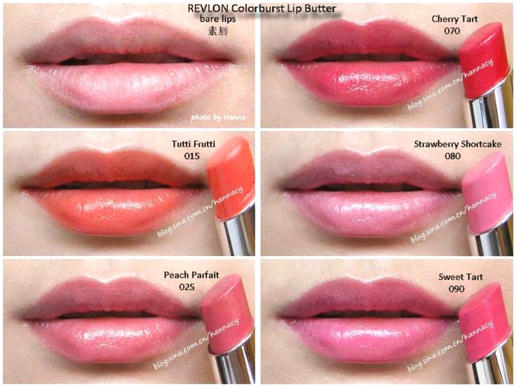 Revlon Strawberry Shortcake Lip Butter REVLON Colorbur...