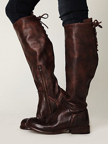 Manchester Tall Boot, freepeople: Brown Leather Boots, Beds Stu, Free People Clothing, Tall Boots, Lace Up Boots, Shoes Boots, Riding Boots, Manchester Tall, Brown Boots