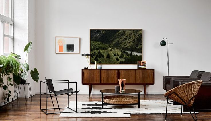 Our latest campaign 'Winter Light'. Features vintage European furniture from our collection alongside contemporary Australian art and homewares. 1980's Dutch FM60 Cubic Lounge Chair by Raboud van Beekum, Vintage Danish Gunni Omann Sideboard, Vintage Italian Matteo Grassi Leather Lounge Chairs. Original woodblock print on left by Ellie Malin, original Photographic print by Brooke Holm. Campaign Photography by Brooke Holm