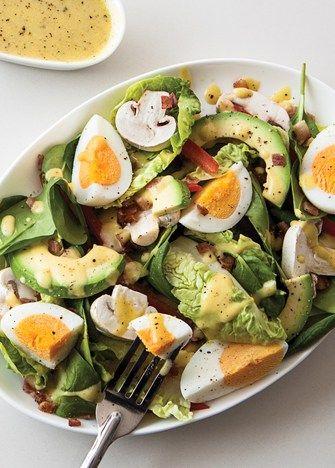 receta de ensalada con huevo, ensalada con huevo, cómo hacer una ensalada con huevo.
