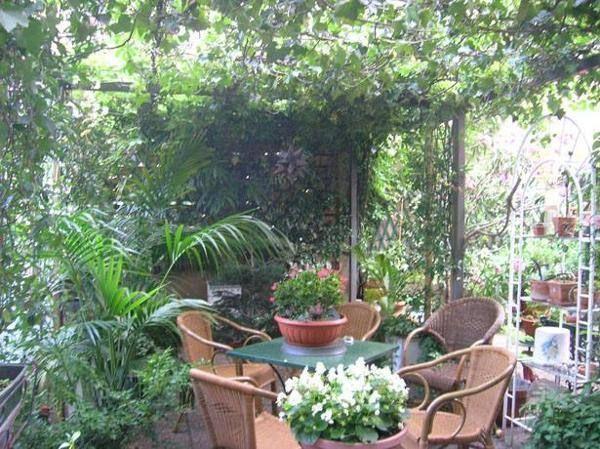 14 best images about terrazze fiorite photo on pinterest - Terrazzi arredati e fioriti ...