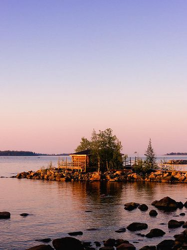 ♥ Swedish Midsommar - Beautiful evening light - Pitea, Norrbotten, Sweden