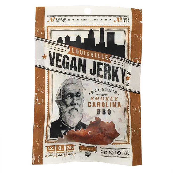 Louisvile Vegan Jerky Co. Smokey Carolina BBQ - 85g