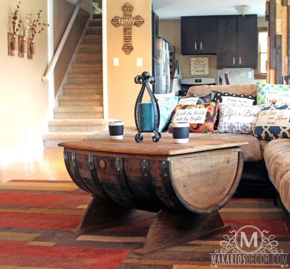 Oval Wood Coffee Table Canada: 25+ Best Ideas About Whiskey Barrel Coffee Table On