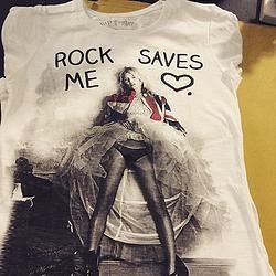 TSHIRT  MY TSHIRT ROCK SAVE ME