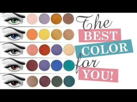 How To Choose Eyeshadow For Your Eye color | Makeup Artist Tips - YouTube