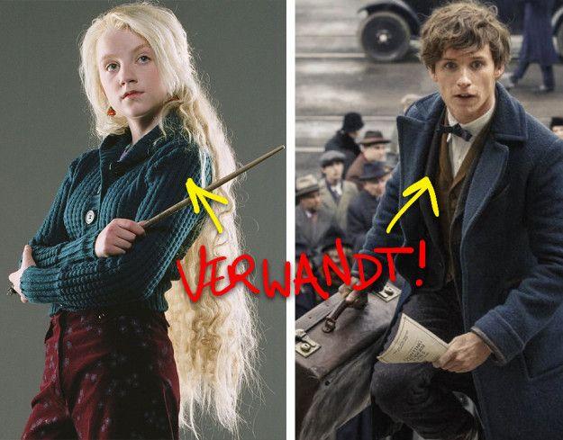 Nach Hogwarts wurde Luna Lovegood Naturforscherin und traf bei ihrer Arbeit Rolf Scamander, den sie später heiratete. Rolf Scamanders Großvater ist Newt Scamander, der Held des kommenden Films Phantastische Tierwesen & wo sie zu finden sind. | 37 Fakten, die Dich komplett neu auf Harry Potter schauen lassen