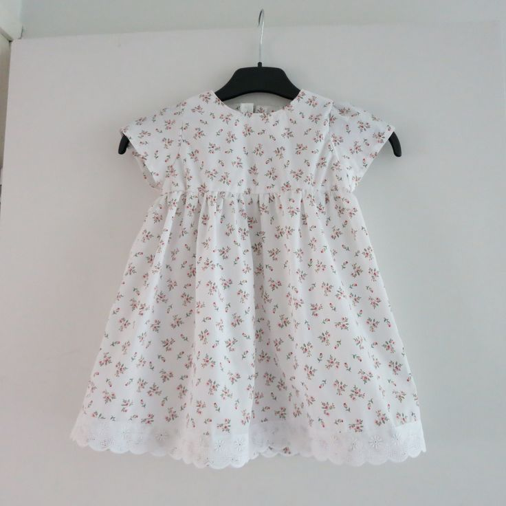 Summer dress for a two-year-old girl.