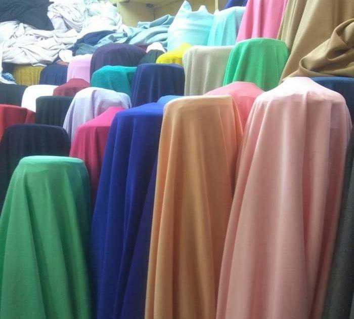 Bahan Polyester Baju
