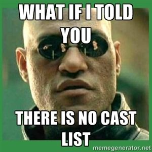 What if I told you there is no cast list | Matrix Morpheus