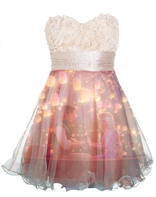 Eugene and Rapunzel dress. I NEED THIS!!!!