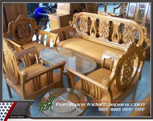 KURSI TAMU ASTINA Furniture Indah Jepara-KT-010