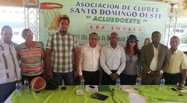 Anuncian Segundo Torneo de Baloncesto Sub-25 de Santo Domingo Oeste
