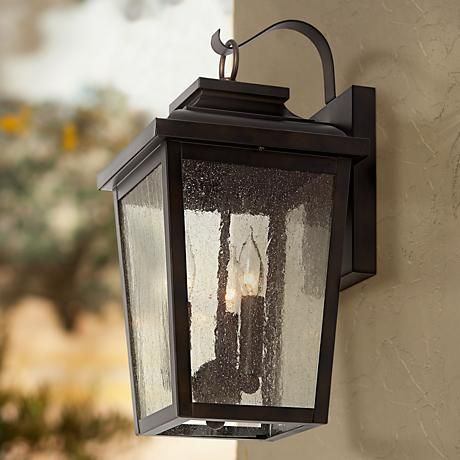 Best 25 outdoor wall lighting ideas on pinterest outdoor wall minka irvington manor 16 34 high bronze outdoor wall light audiocablefo Light database