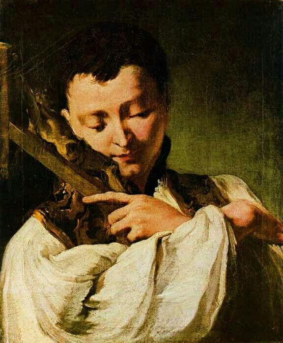 Il giovane San Luigi Gonzaga   Würzburg. 1735