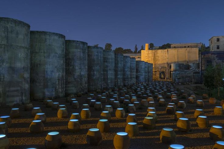 """Ο Δρ Κώστας Πράπογλου (goo.gl/XICCCO) γράφει στο έγκυρο βρετανικό περιοδικό σύγχρονης τέχνης this is tomorrow για τη μεγάλης κλίμακας in situ εγκατάσταση της Δανάης Στράτου """"Πάνω στη Γη Κάτω από τα Σύννεφα"""" στο Παλαιό Ελαιουργείο Ελευσίνας. - - - Dr Kostas Prapoglou (goo.gl/HrfP2p) talks on the influential British contemporary art magazine this is tomorrow about Danae Stratou's large-scale site-specific installation """"Upon the Earth Under the Clouds"""" at the Paleo Eleourgio of Eleusis"""